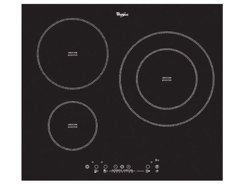 TABLE DE CUISSON INDUCTION WHIRLPOOL ACM787 NE offre à 299,99€