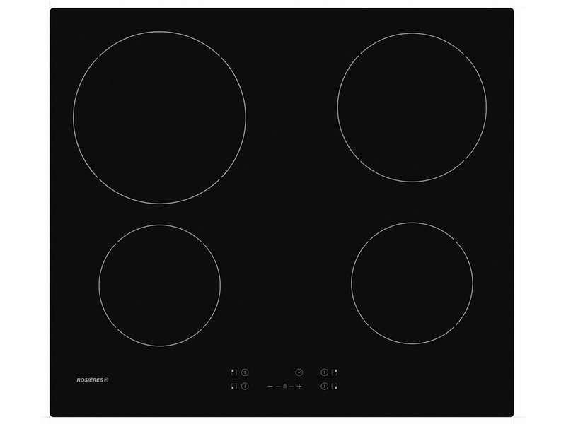 TABLE DE CUISSON VITROCÉRAMIQUE ROSIERES ROCTH64C-1 offre à 179,99€