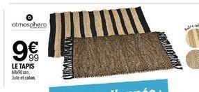 Le tapis offre à 9,99€