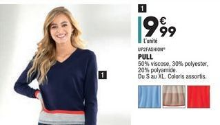 PULL UP2FASHION offre à 9,99€