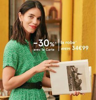 La robe offre à 34,99€