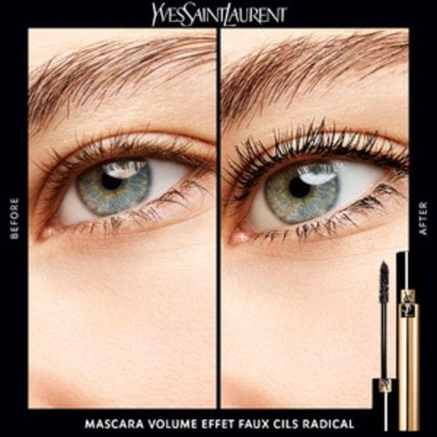 YVES SAINT LAURENT Mascara Volume Effet Faux Cils RadicalMascara noir intense offre à 29,9€