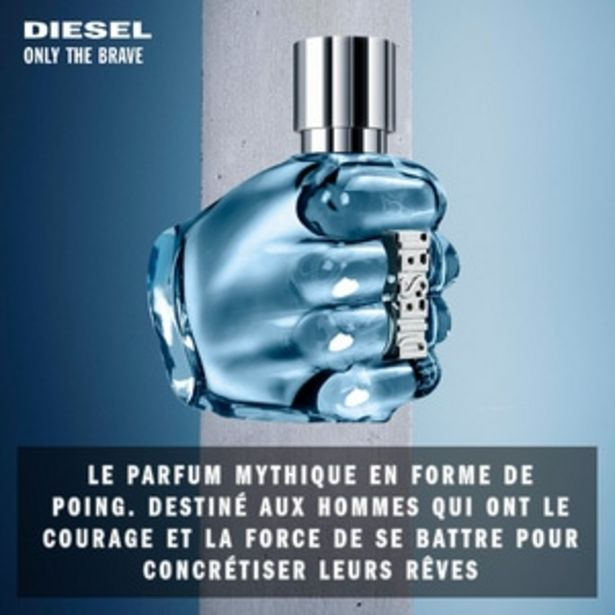 DIESEL Only the Brave Eau de toilette offre à 35€