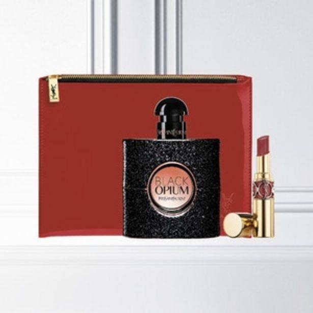 YVES SAINT LAURENT Black OpiumYves Saint Laurent Black Opium Coffret Fête des Mères & Rouge à lèvres offre à 79,5€