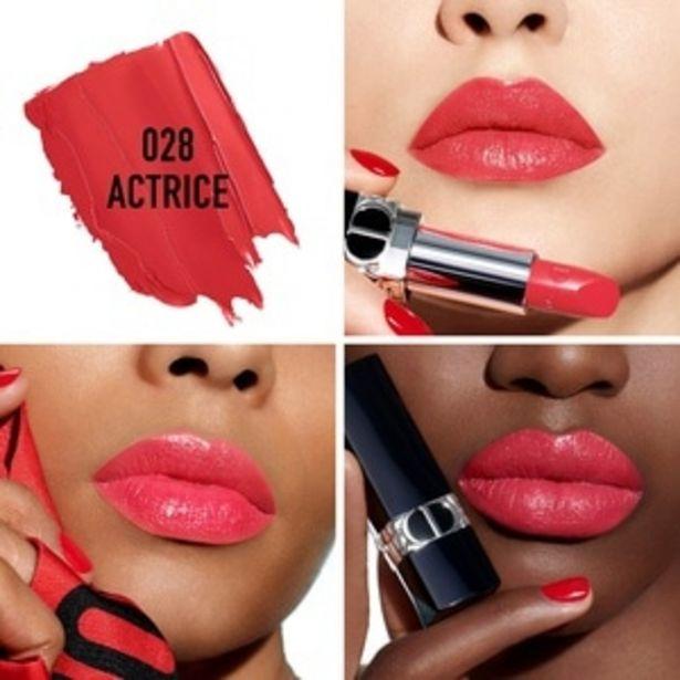 DIOR Rouge DiorRouge à lèvres rechargeable couleur couture, 4 finis offre à 29,5€