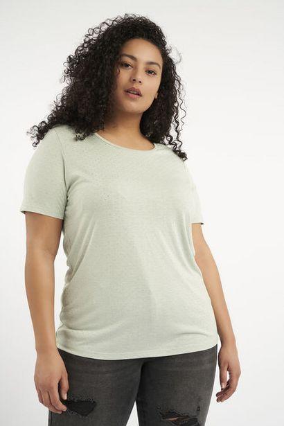 T-shirt avec petits clous offre à 10€