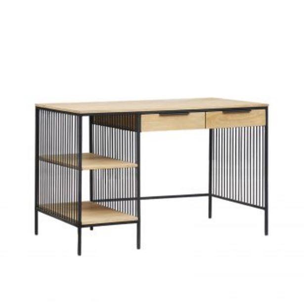 """Bureau design industriel loft 2T """"Manguier Linéo"""" offre à 922,2€"""