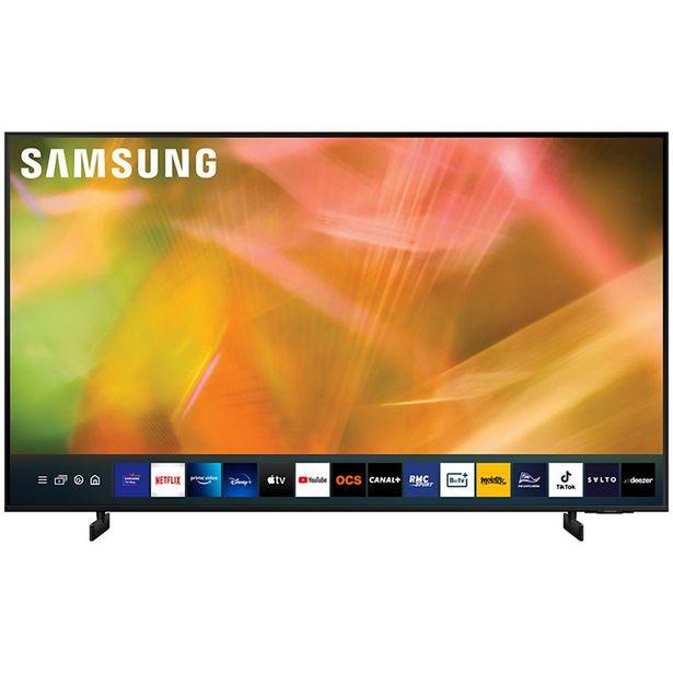 TV LED Samsung UE50AU8005 2021 offre à 699€