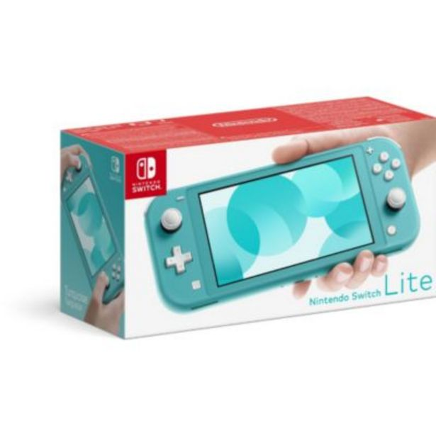Console Switch Lite Nintendo Switch Lite Turquoise offre à 199,99€
