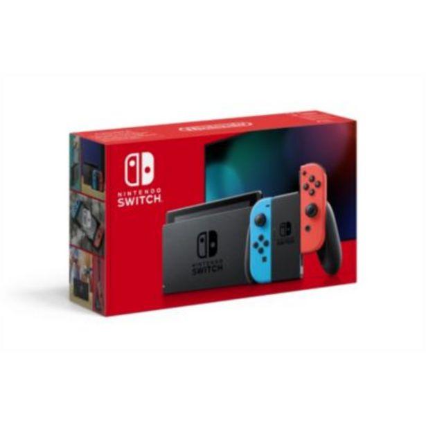 Console Nintendo Switch Bleue / Rouge offre à 279,98€