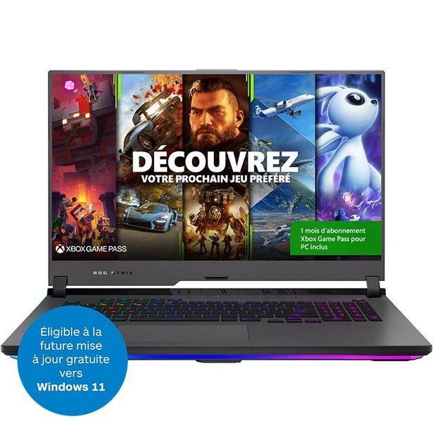 PC Gamer Asus STRIX-G17-G713QR-HG022T offre à 2399€