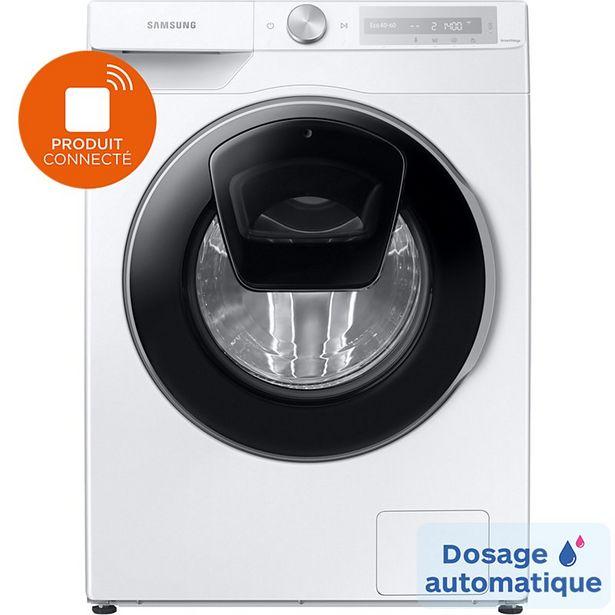 Lave linge hublot Samsung WW90T684DLH AUTODOSE offre à 849€