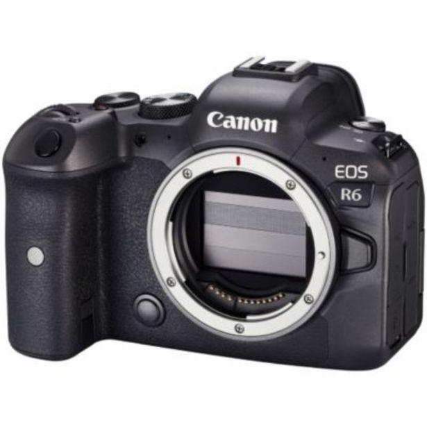 Appareil photo Hybride Canon EOS R6 Boîtier nu offre à 2499€