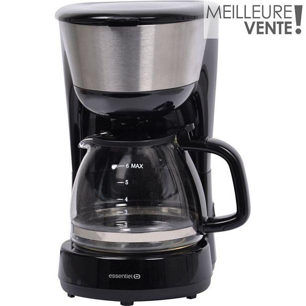 Cafetière filtre Essentielb ECF 8n SELENIA offre à 15,99€
