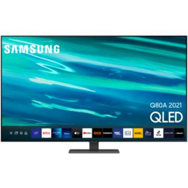 TV QLED Samsung QE65Q80A 2021 offre à 1290€