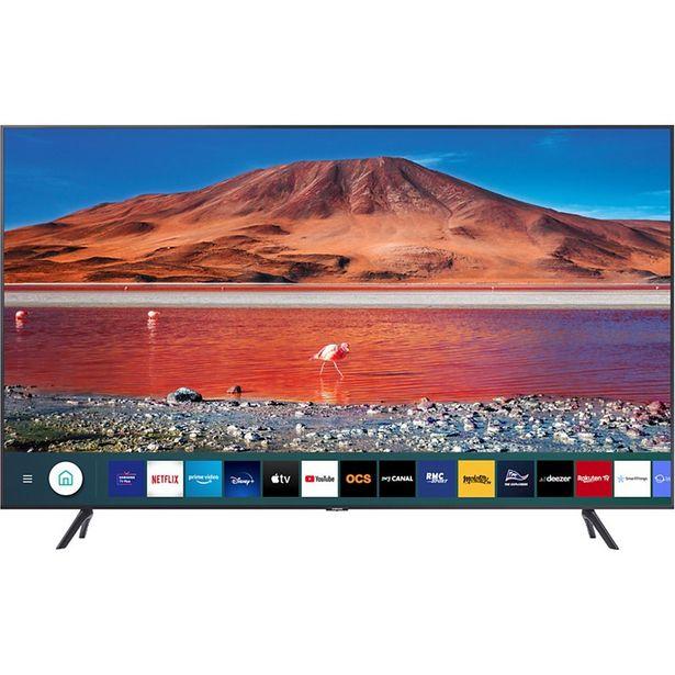TV LED Samsung UE55TU7125 2020 offre à 599€