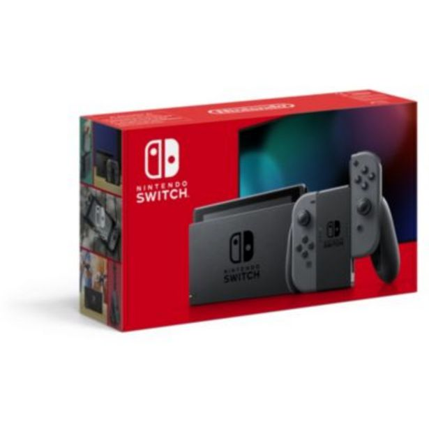 Console Nintendo Switch  Grise offre à 299,98€