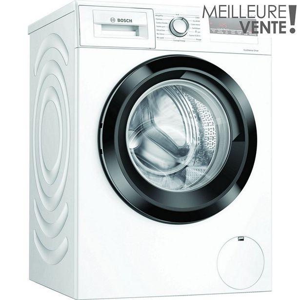 Lave linge hublot Bosch WAN28208FF offre à 479€