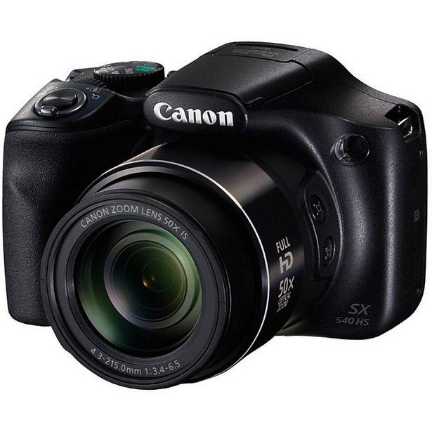 Appareil photo Bridge Canon Powershot SX540 HS offre à 319€
