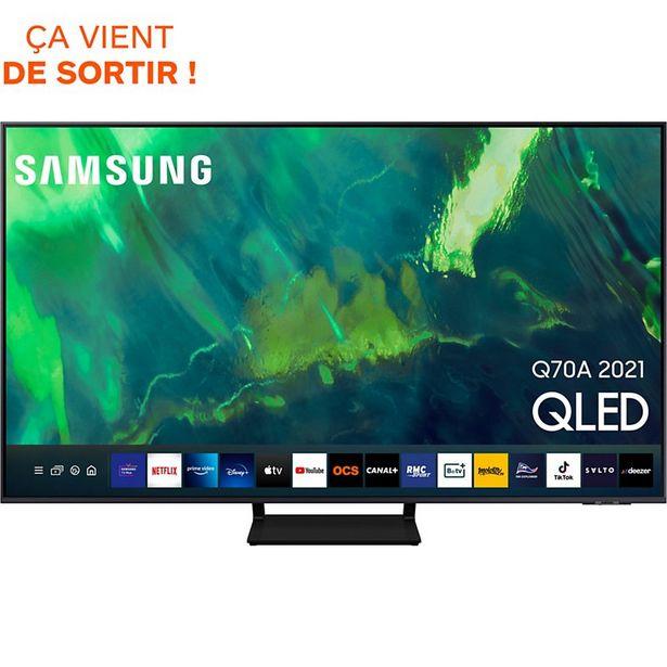 TV QLED Samsung QE65Q70A 2021 offre à 1190€