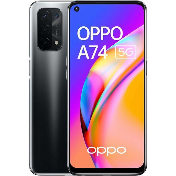 Smartphone Oppo A74 Noir 4G offre à 199€