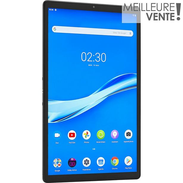 Tablette Android Lenovo TAB M10+ X606 4Go 64Go offre à 197,99€