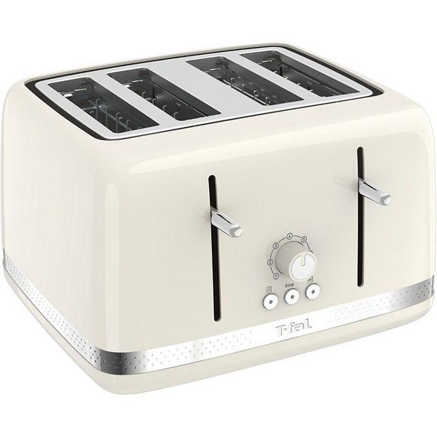 Grille-pain Moulinex LT305A10 SOLEIL IVOIRE 4 TRANCHES offre à 49,99€