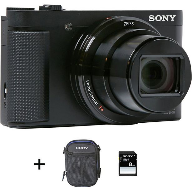 Appareil photo Compact Sony DSC-HX80 + Etui + SD 8Go offre à 379€
