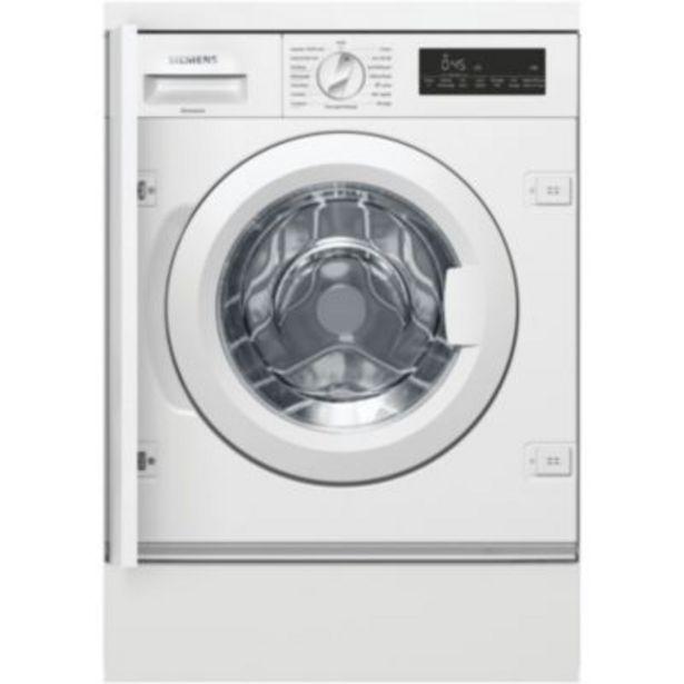 Lave linge hublot encastrable Siemens WI14W548FF offre à 746€