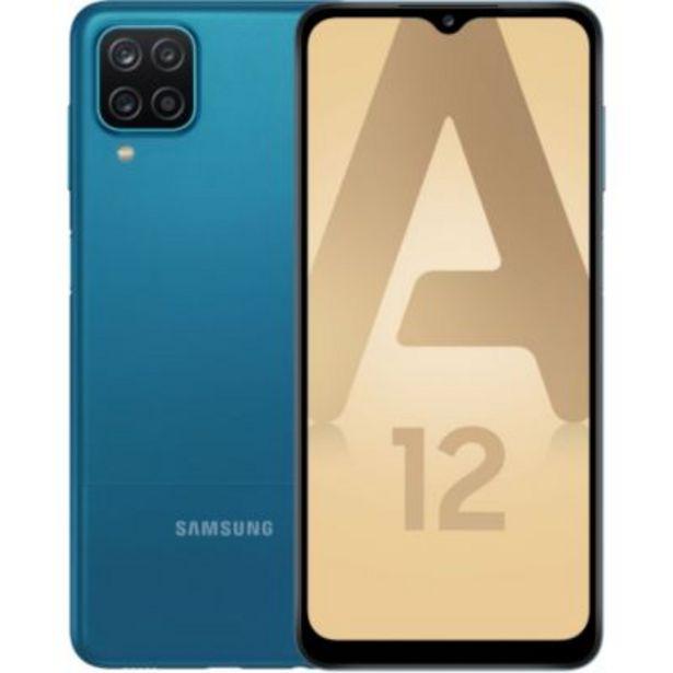 Smartphone Samsung Galaxy A12 Bleu offre à 189€