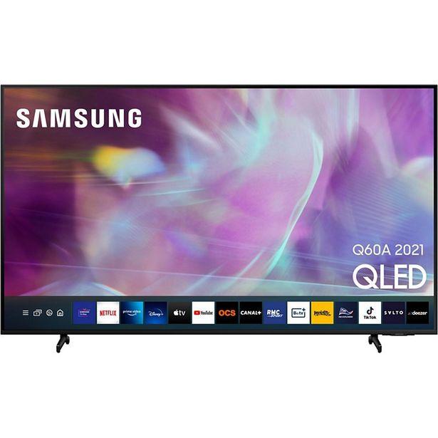 TV QLED Samsung QE75Q60A 2021 offre à 1490€