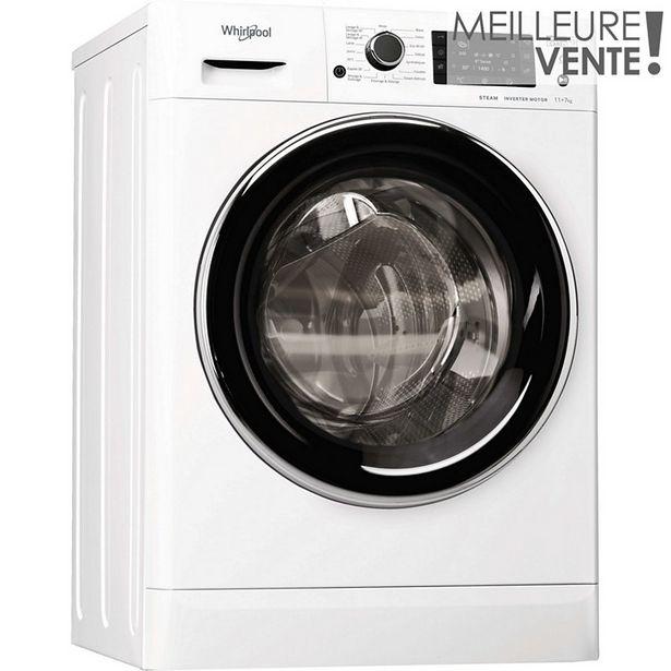 Lave linge séchant hublot Whirlpool FWDD1171582WBCVFRN offre à 749€