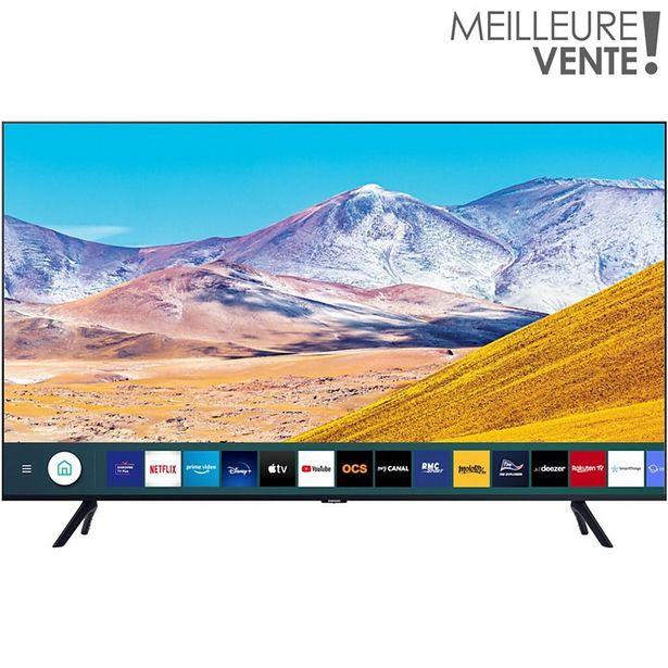 TV LED Samsung UE43TU8005 2020 offre à 449€