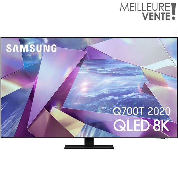 TV QLED Samsung QE55Q700T 8K 2020 offre à 1290€