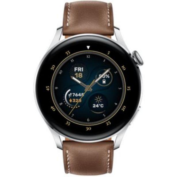 Montre connectée Huawei Watch 3 Classic Marron offre à 329€