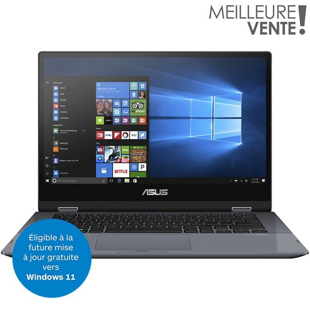 Ordinateur portable Asus TP412FA-EC756T offre à 499€