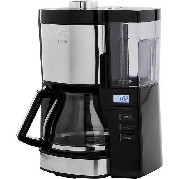 Cafetière filtre Melitta Look V Timer noir 1025-08 offre à 67,99€