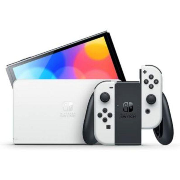 Console Nintendo Switch Modèle OLED Blanche offre à 319,99€