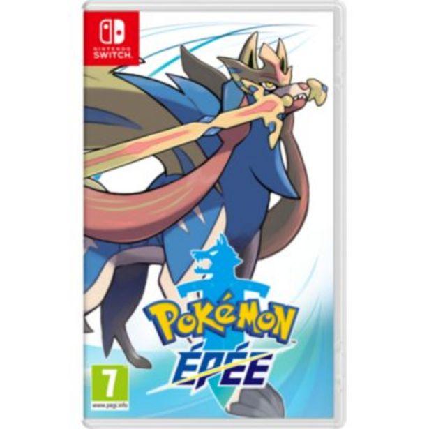 Jeu Switch Nintendo Pokemon Épée offre à 44,99€