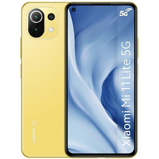 Smartphone Xiaomi Mi 11 Lite Jaune 5G offre à 369€