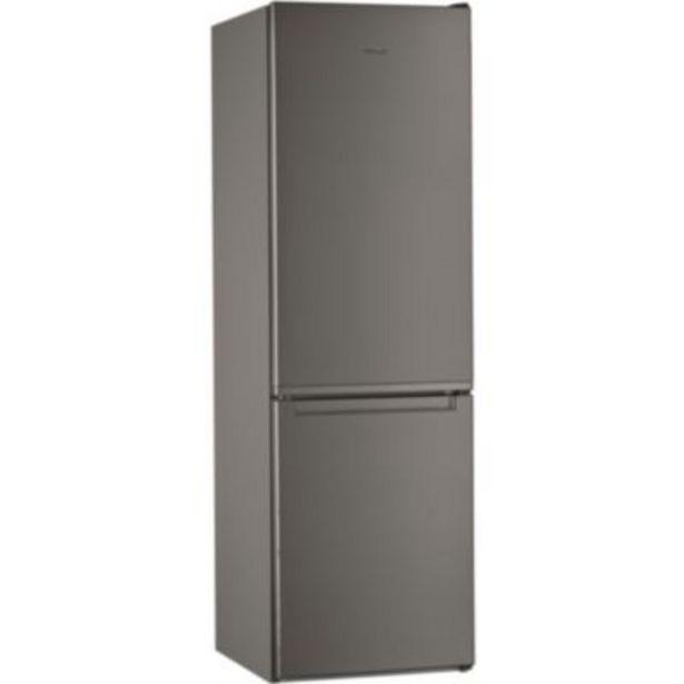 Réfrigérateur combiné Whirlpool W5821EFOX1 offre à 499€