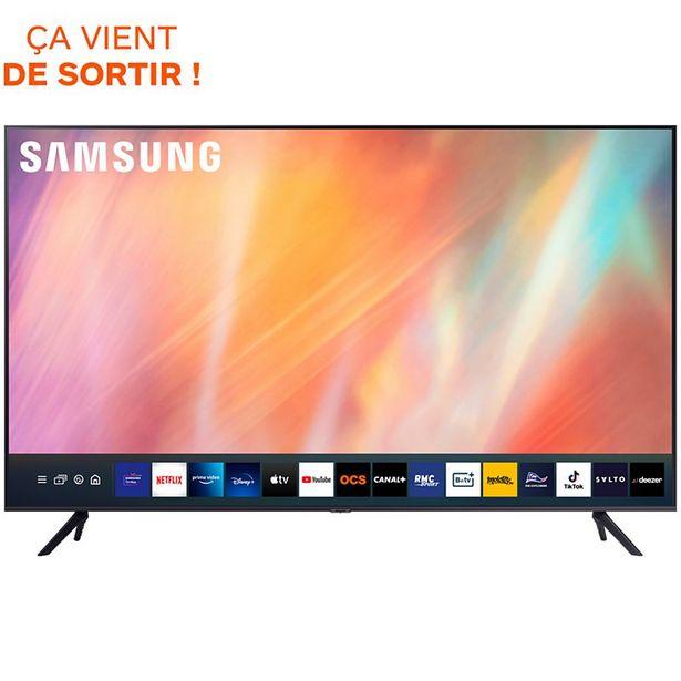 TV LED Samsung UE55AU7105 2021 offre à 649€