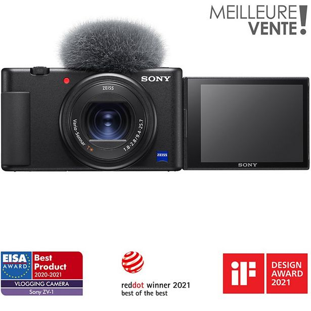 Appareil photo Compact Sony ZV1 vlog offre à 699€