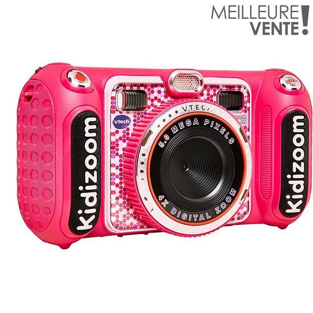 Appareil photo enfant Vtech Kidizoom Duo DX rose offre à 64,99€