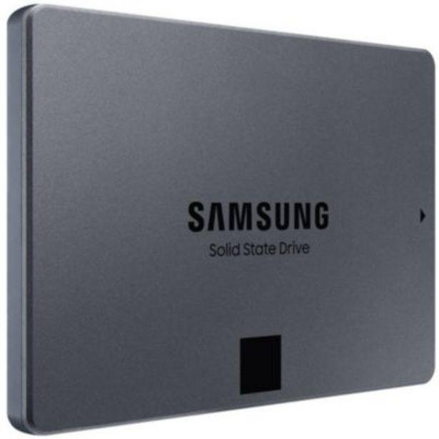 Disque SSD interne Samsung 870 QVO 1To offre à 87,99€