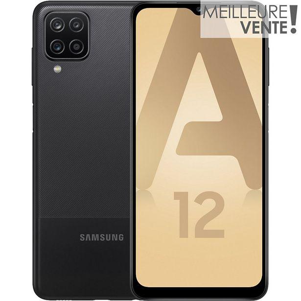 Smartphone Samsung Galaxy A12 Noir offre à 169€