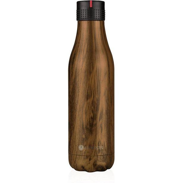Bouteille isotherme Les Artistes Bottle UP Time UP Bois 500ml offre à 29,99€