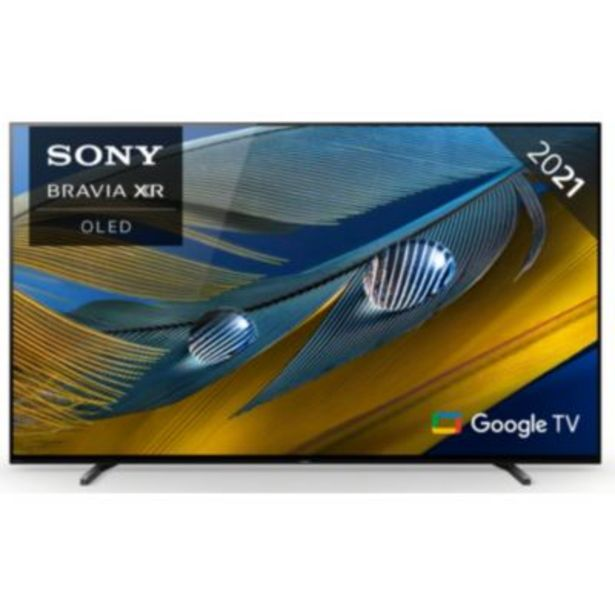 TV OLED Sony Bravia XR-65A80J Google TV offre à 2089€