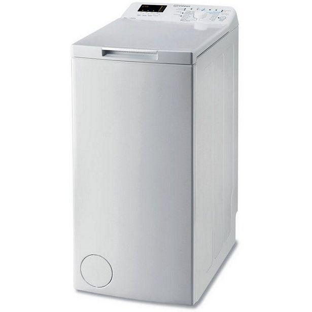 Lave linge top Indesit BTWHS62300FRN offre à 321€