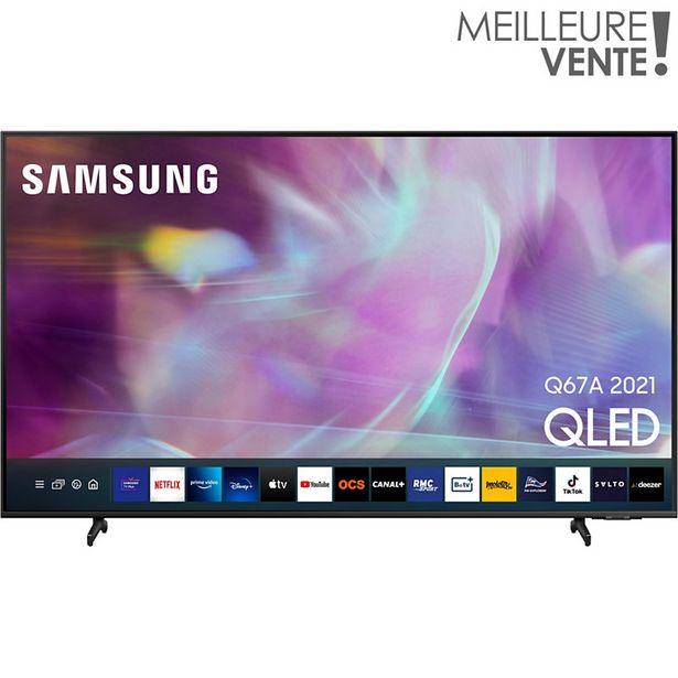 TV QLED Samsung QE43Q67A 2021 offre à 799€